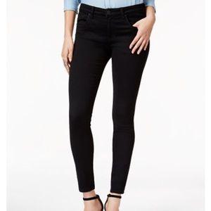 STS Blue Emma Ankle Skinny High Rise Black Jean